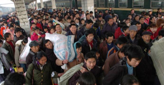 Počet čínských venkovských migrujících pracovníků dosahuje 286,5 milionu