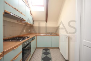 Kitchen - For Rent: 2-bedroom Apartment Prague 2 - Vinohrady, Polská street