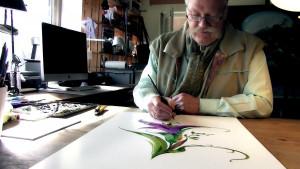 Röhrig byl umělcem celý svůj život. (PRNewsFoto / Scientologická církev)