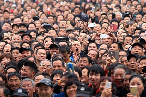 migrující pracovníci v Číně