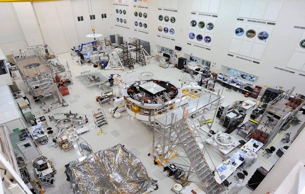 Mars 2020 Rover se sestavil a otestoval před spuštěním příštího roku