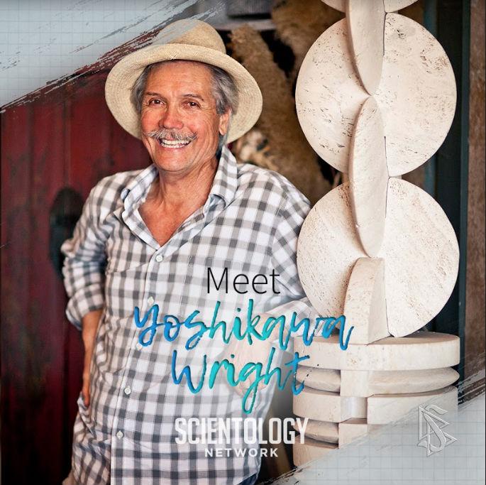 Scientologie umělci kamenosochař Yoshikawa Wright