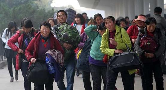 Příliv migrujících pracovníků - stratifikovaná skupina lidí